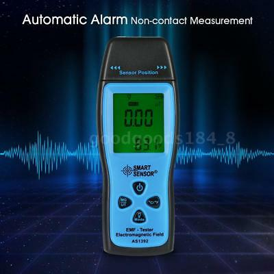 Mini Digital LCD EMF Tester Electromagnetic Field Radiation Detector Meter US