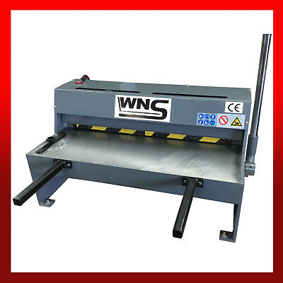 WNS Heavy Duty Sheet Metal Lever Guillotine Shear Cutter 650mm x 1.25mm Signs