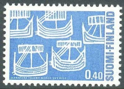 Finland 1969 MNH Stamp - Norden - Ships - Boats