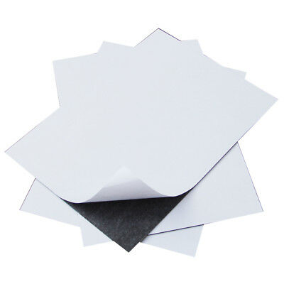 A4 0.4/0.6/0.8/1/1.5/2/3mm Thick Self Adhesive Craft Flexible Magnetic Sheeting