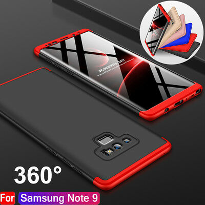 360° Full Body Shockproof Hybrid Hard Silm Case Cover For Samsung Galaxy Note 9