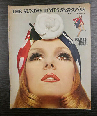 The Sunday Times Magazine: Paris 1968, Mollie Moncrieff, 25th February 1968