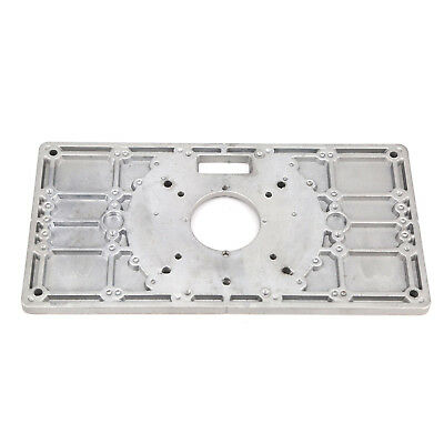 Trim router table 10664 picclick quality aluminum router table insert plate ring for woodworking bench trimmer keyboard keysfo Images