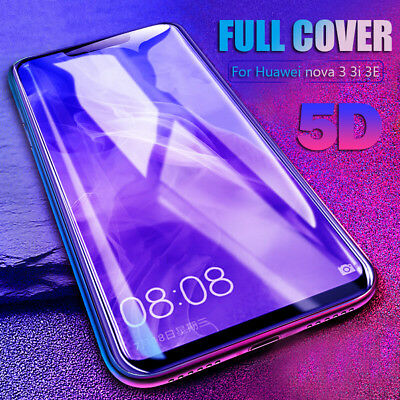 For Huawei Nova 3i P10/P20 Y6/Y8 2018 Film 5D Temper Glass Screen Protector Film