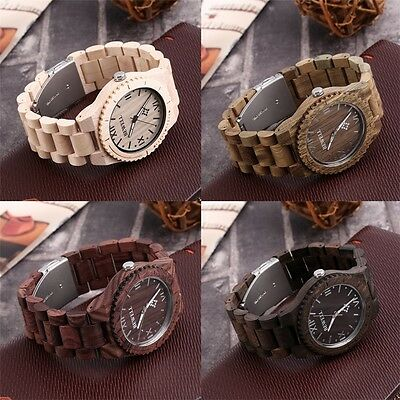 Bewell W065A High Quality Wooden Watches Men's Quartz Wrist Watch KUS
