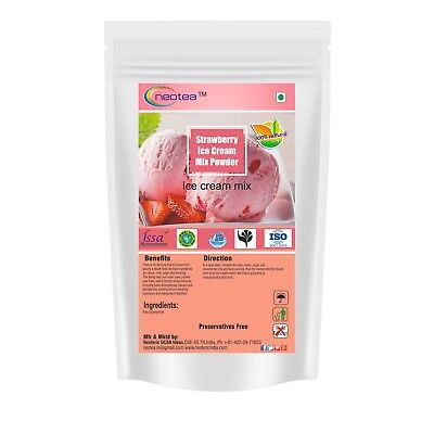 Haan ice cream mix powder delight easy made mix 4 flavors vanilla neotea strawberry ice cream mix powder ccuart Images