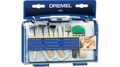 Dremel 684 set 20 accessori per lucidare