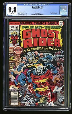 Ghost Rider #21 CGC NM/M 9.8 White Pages