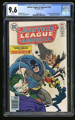 Justice League Of America #136 CGC NM+ 9.6 White Pages