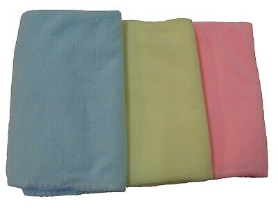 15 Pc Large Microfiber Home Car Valeting Cloth Dusters Polishing Cleaning Cloths