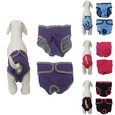 Dog Diaper Physiological Shorts Sanitary Underwear Pants Nappy For Female Pet