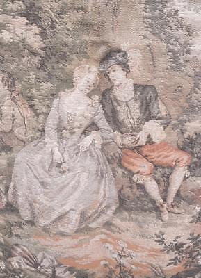 RESERVED ANNETTE French JP Paris Panneaux Gobelins Oblong 19thC Style Tapestry