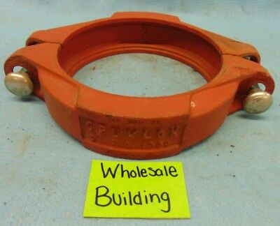 "Gruvlok Flexible Pipe Coupling, 6"" Pipe, Fig. 7000, Max 500 Psi Wp, No Seal!"