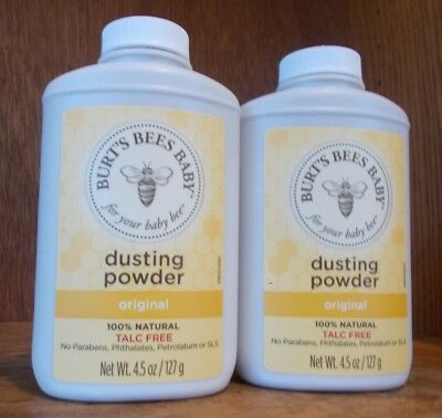 Burt's Bees Baby Bee Dusting Powder 4.5 Ounces 2 Pack
