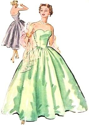 #278 BEWITCHING  BALL GOWN  PATTERN ALL SIZE  DOLLS