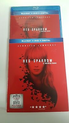 Red Sparrow ( Blu-ray/DVD/Digital ) with Slipcover