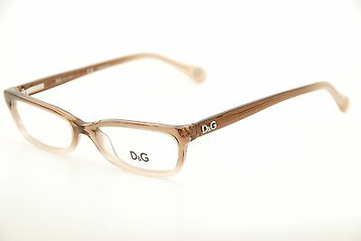 516b90c2432 New Authentic Dolce   Gabbana 1189 1675 Brown Beige 52mm Eyeglasses Frames  RX