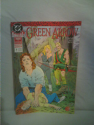 Green Arrow comic annual 3 DC 1990