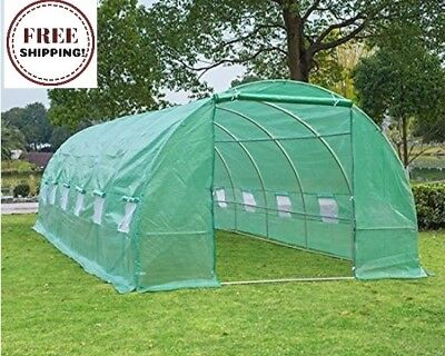 Portable Extra Large 26'x10'x7' Walk-In Greenhouse Outdoor Plant Gardening Hot
