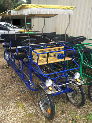 Surrey Bike - 4 Wheel, 9 Seater.  Hire, Party, Business Or Fun