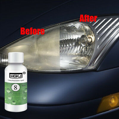 New 50ML HGKJ Car Lamp Renovation Agent Headlight Refurbishing Auto Light Repair