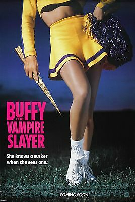 Buffy The Vampire Slayer (1992) Original Advance Movie Poster - Rolled - 2-Sided