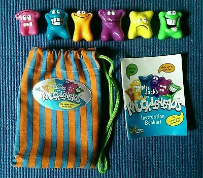 Moose Play Jacks toys Knuckleheads Figures with bag