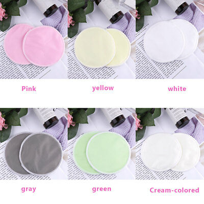 12pcs Women Round Washable Reusable Soft Absorbent Bamboo Nursing Pads Breast
