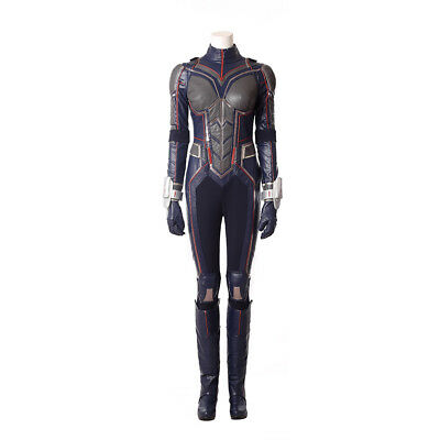 Ant-Man and the Wasp Trailer 2 Jumpsuit Outfits Halloween Cosplay Costume