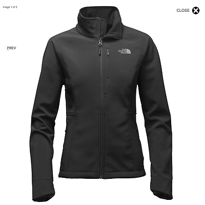 The North Face Women's Apex Bionic Soft Shell Jacket - Grey - Large