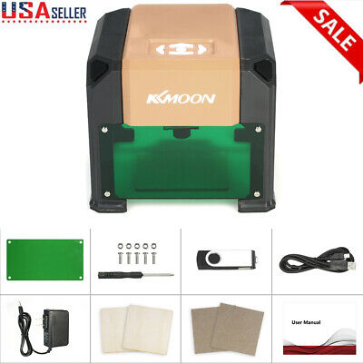 3000mW High Speed Laser Engraving Machine USB DIY Carving Wood Burning Tool CE