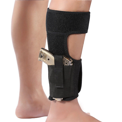 Tactical Airsoft Holster Concealed Black Leg Ankle Pistol Holster Section Mount