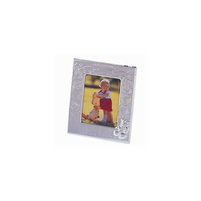 Silver Plated Birth Record 3x4 Photo Frame Baby Picture Album Fashion Jewelry