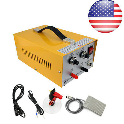 Pulse Sparkle Spot Welder Gold Platinum Jewelry Welding Machine 110V USA SHIP