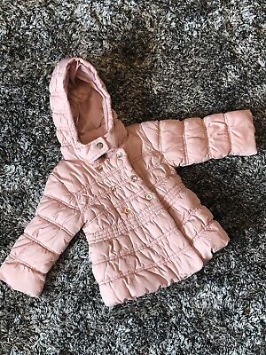 Immaculate- Next Pink Padded Jacket - 12-18 M - Girls