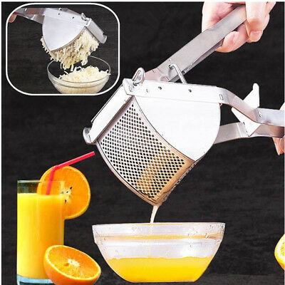 Modern Mash Potato Stainless Steel Ricer Masher Fruit Press Fruit Food Strainer