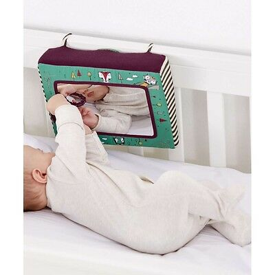 NEW Mamas and Papas Babyplay Magical Mirror Tactile Touch Sensory Sounds Toy