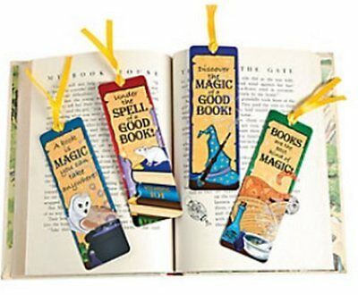 Wizard Bookmarks - Book Reading School Party Bag Fillers Pack Sizes 6 - 48