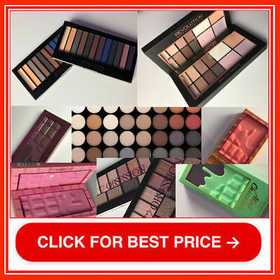 Makeup Revolution I Heart Chocolate Eyeshadow Palette Cover Contour Highlighter