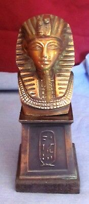 A Very Old Statue of Copper, Pharaoh Tutankhamen (c. 1361-1352 BC)