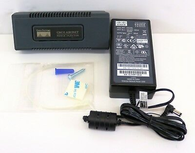 Cisco Aironet Power Injector - AIR-PWRINJ3 With PSU & Fixing Kit