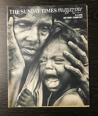 The Sunday Times Magazine: West Bengal Refugees by Don McCullin, 5th Sept 1971