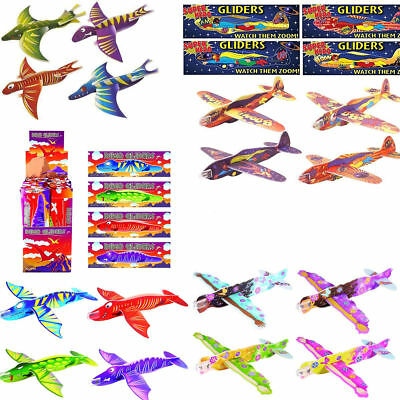 Super Hero Plane Dinosaur Fairy Prince Gliders Pinata Toy Loot Party Bag Fillers
