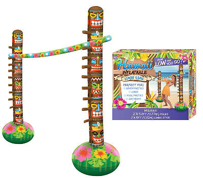 New Inflatable Limbo Party Game Toy Hawaiian Decoration Summer Beach Party Pool