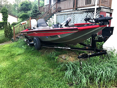 2005 BASS TRACKER 175 pro team special edition boat
