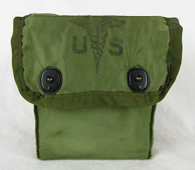 US Military Medical Instrument & Supply Set w/First Aid Kit Case & Contents 1995