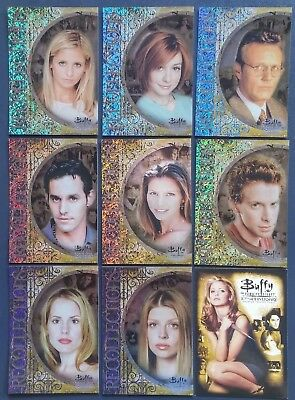 Buffy - 10 th Anniversary * Karten Set