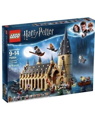 LEGO Harry Potter Hogwarts Great Hall 75954 Wizarding World New 2018 878 pieces