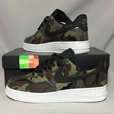 the best attitude b71c7 59381 Nike Air Force 1 07 LV8 UK9 823511-201 Camo EUR44 US10 Camouflage Olive