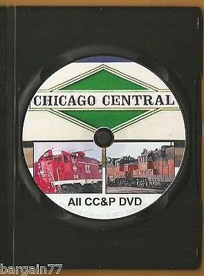 All CHICAGO CENTRAL PACIFIC on DVD 30 Yrs Ago 1988 Wallace Yard, WigWag